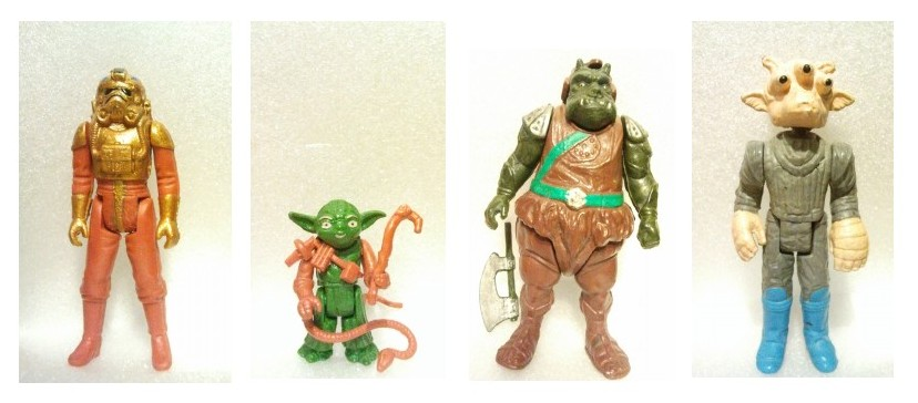 Rarytasy: Yoda, Strażnik Gamorreański, Ree Yeesi i Szturmowiec