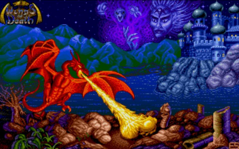 Wings of death na Atari ST/STE