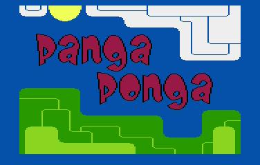 Panga Ponga: screen tytułowy